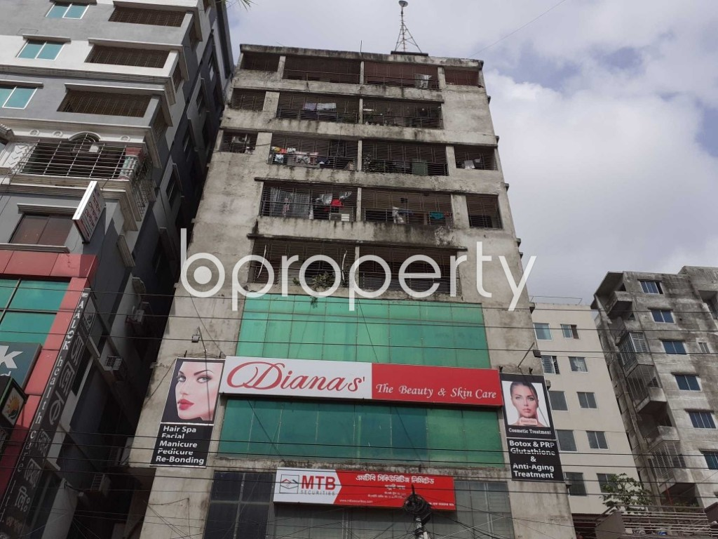 Front view - 3 Bed Apartment for Sale in Mirpur, Dhaka - 1978490