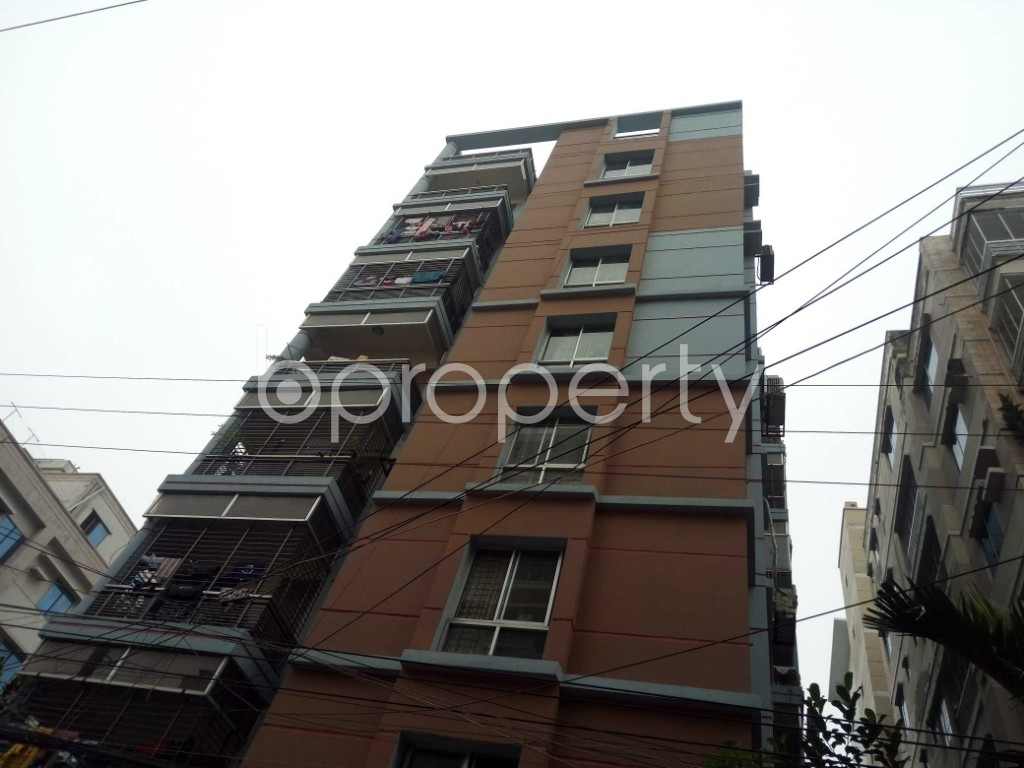 Front view - 2 Bed Apartment for Sale in Bashundhara R-A, Dhaka - 1978562