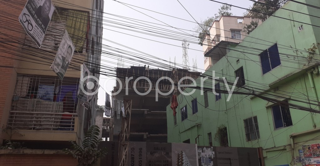 Outside view - 3 Bed Apartment for Sale in Dhanmondi, Dhaka - 1978649