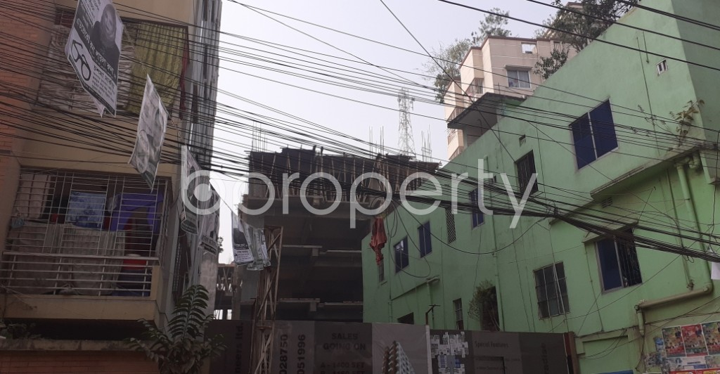 Outside view - 3 Bed Apartment for Sale in Dhanmondi, Dhaka - 1978654