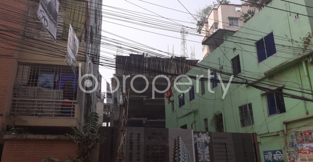 Outside view - 3 Bed Apartment for Sale in Dhanmondi, Dhaka - 1978677