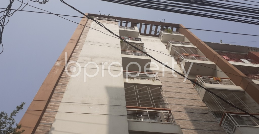Front view - 3 Bed Apartment for Sale in Uttara, Dhaka - 1978708