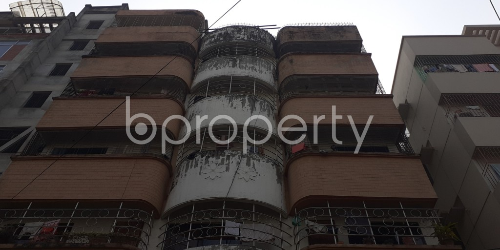 Front view - 1 Bed Apartment to Rent in Bashundhara R-A, Dhaka - 1978720
