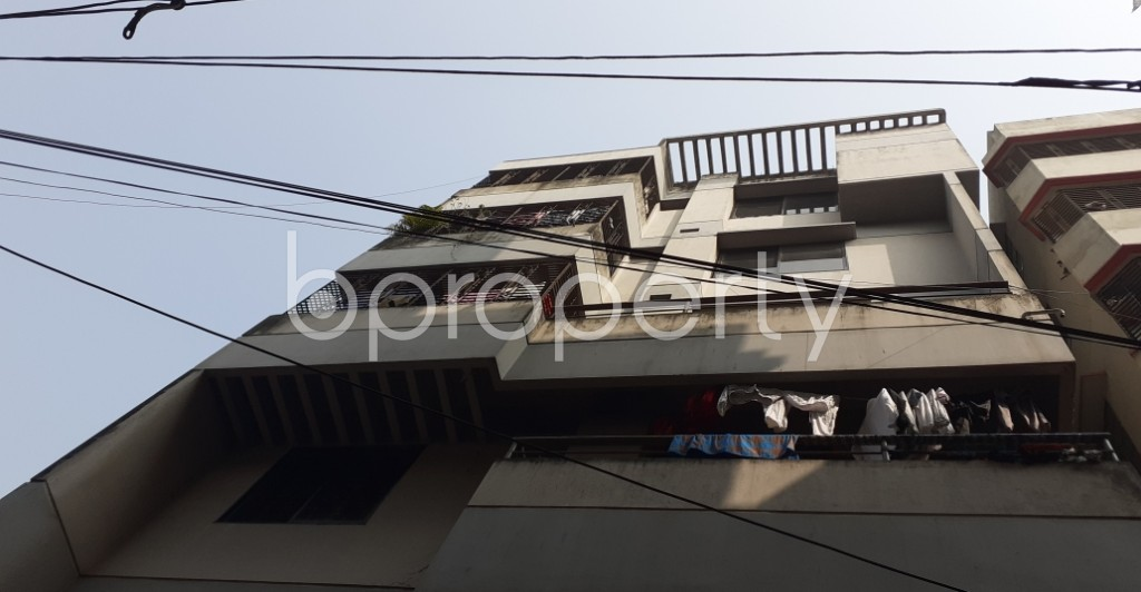 Outside view - 2 Bed Apartment to Rent in Dhanmondi, Dhaka - 1978777