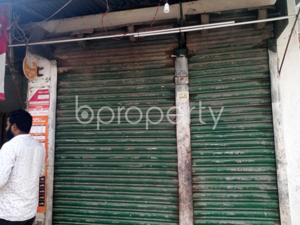 Front view - Shop to Rent in Kuril , Dhaka - 1978822