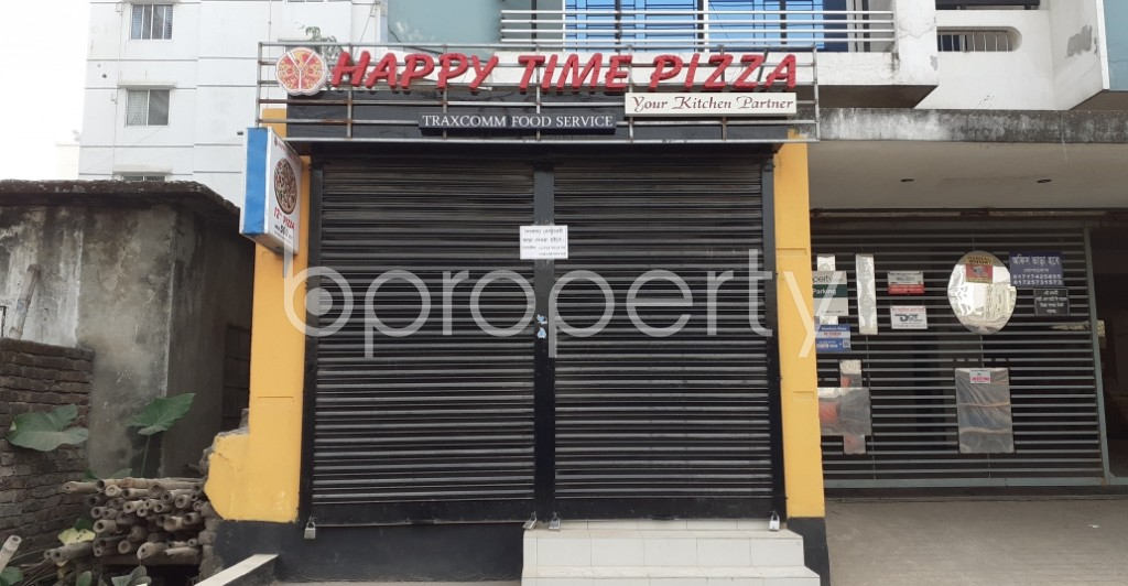 Front view - Shop to Rent in Uttara, Dhaka - 1978943