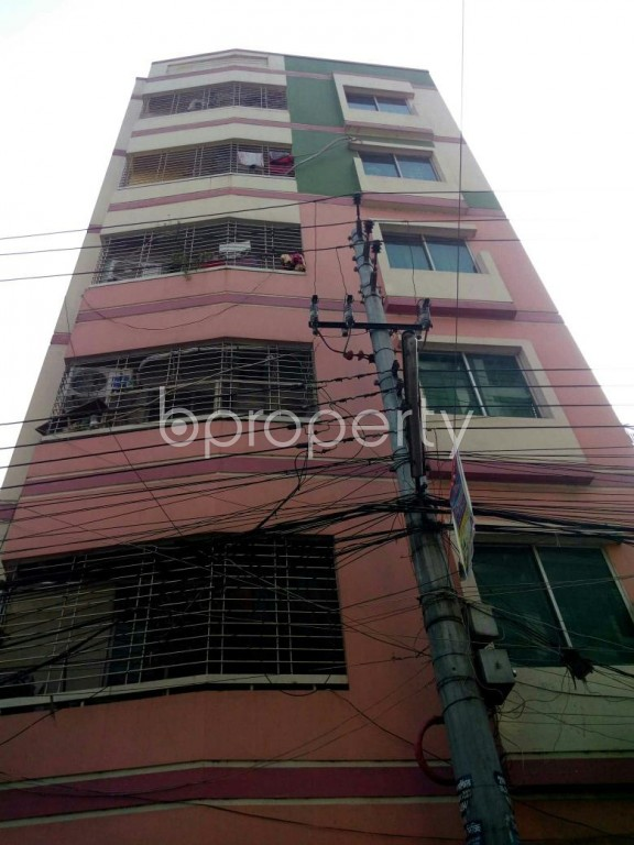 Front view - 3 Bed Apartment to Rent in Mirpur, Dhaka - 1979010