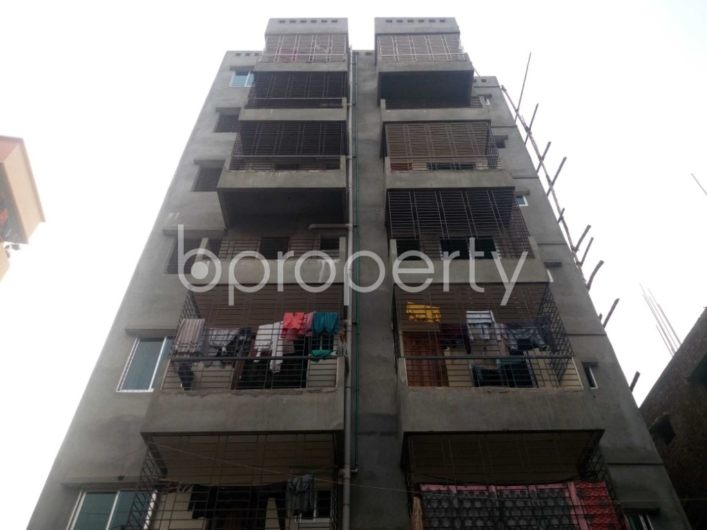Front view - 2 Bed Apartment for Sale in Khilgaon, Dhaka - 1979013