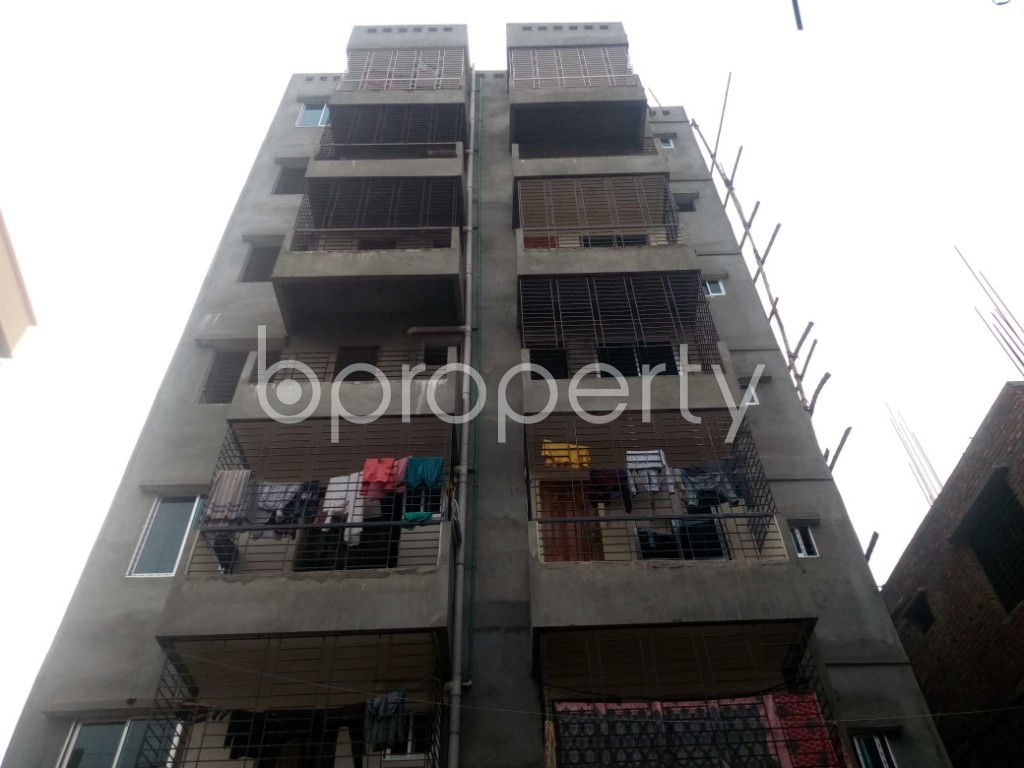Front view - 3 Bed Apartment for Sale in Khilgaon, Dhaka - 1979014
