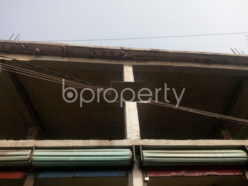 Front view - Shop to Rent in Kuril , Dhaka - 1979065