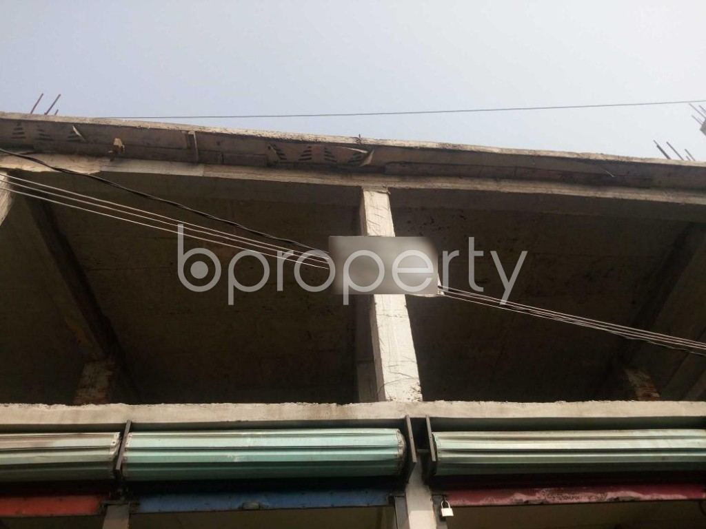 Front view - Shop to Rent in Kuril , Dhaka - 1979071