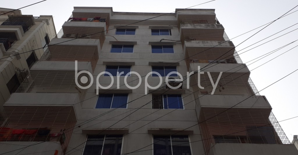 Front view - 3 Bed Apartment to Rent in Uttara, Dhaka - 1979098