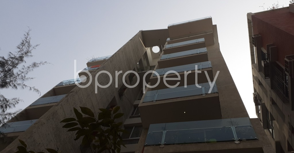 Front view - 3 Bed Apartment to Rent in Bashundhara R-A, Dhaka - 1979137