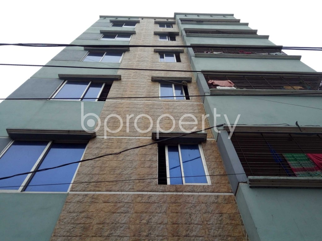Front view - 2 Bed Apartment to Rent in Badda, Dhaka - 1979153