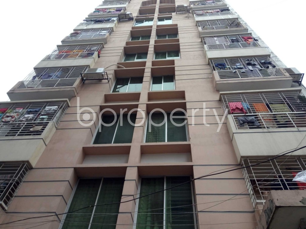 Front view - 2 Bed Apartment for Sale in Badda, Dhaka - 1979157