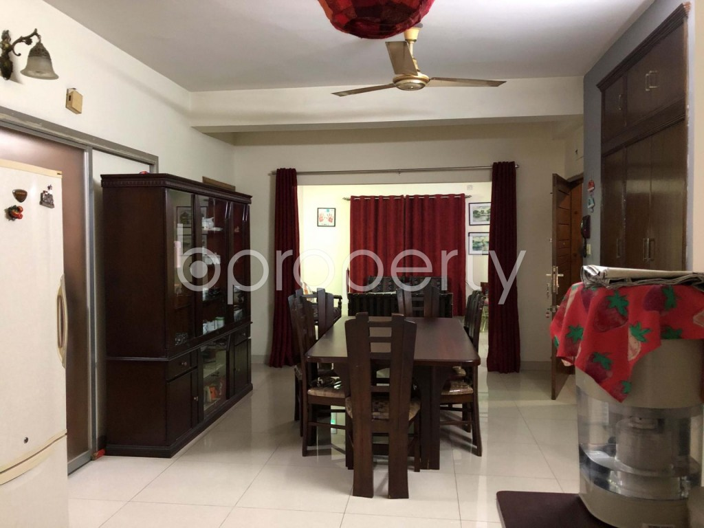 Dining area - 3 Bed Apartment for Sale in Uttara, Dhaka - 1977861