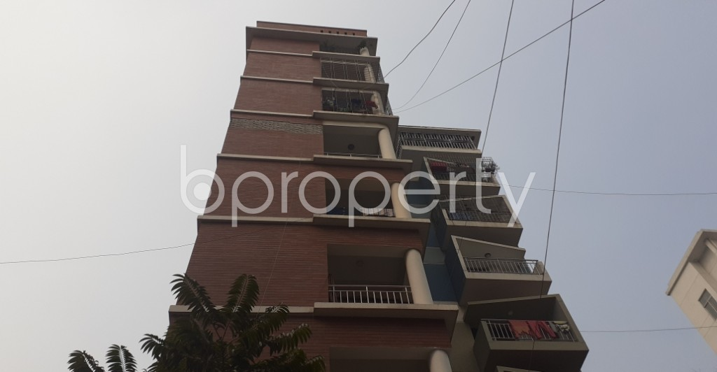 Outside view - 3 Bed Apartment to Rent in Lalmatia, Dhaka - 1981253