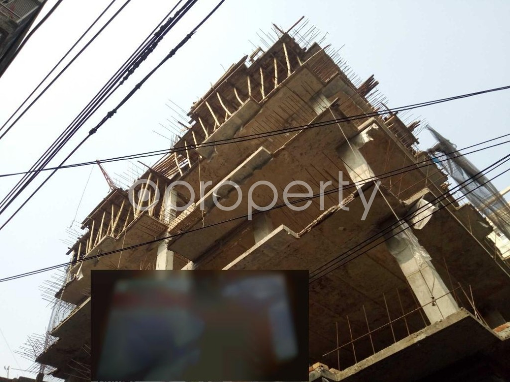 Outside view - 3 Bed Apartment for Sale in Dhanmondi, Dhaka - 1982135