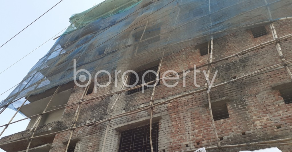 Front view - 3 Bed Apartment for Sale in Dakshin Khan, Dhaka - 1983784