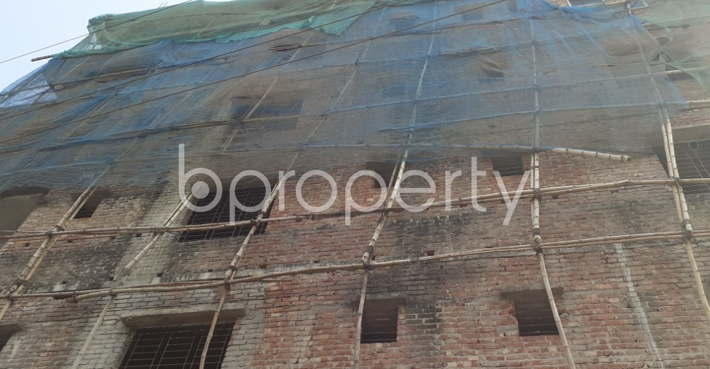Front view - 3 Bed Apartment for Sale in Dakshin Khan, Dhaka - 1983785