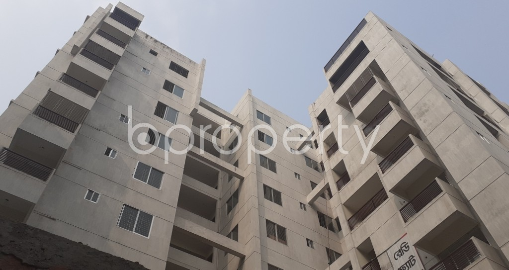 Front view - 3 Bed Apartment for Sale in Mirpur, Dhaka - 1984328