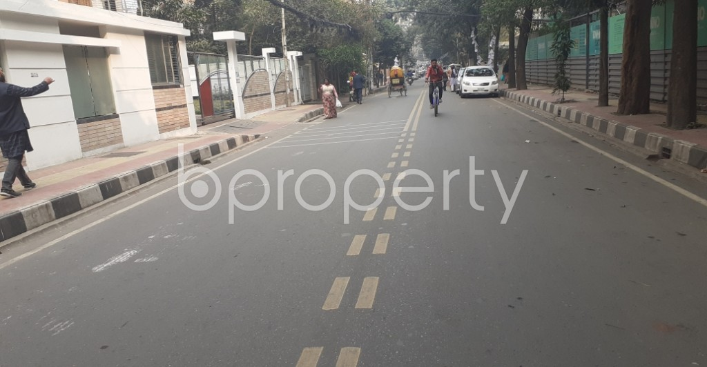 Street View - 4 Bed Apartment for Sale in Gulshan, Dhaka - 1985644
