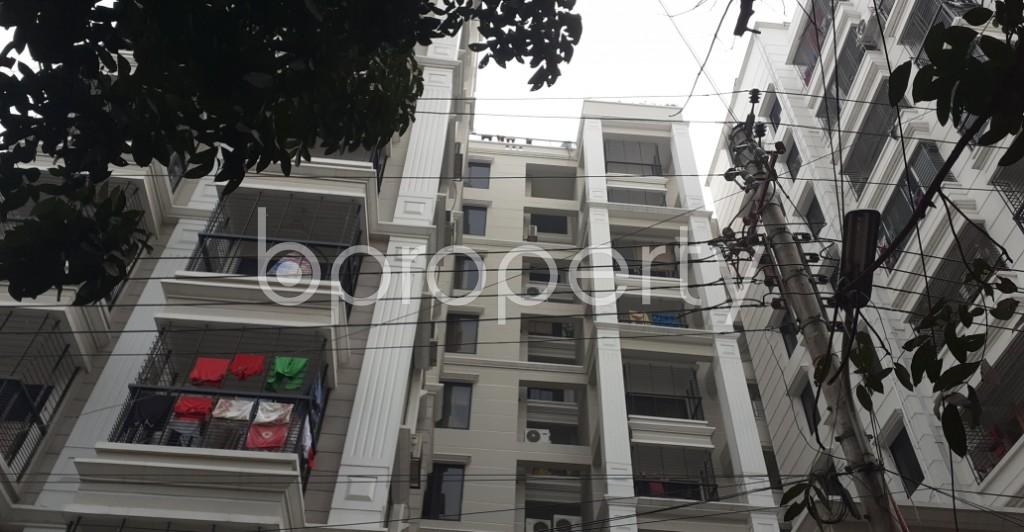 Outside view - 3 Bed Apartment to Rent in Lalmatia, Dhaka - 1985968