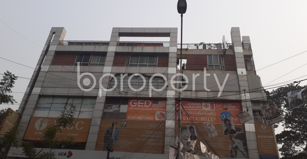 Front view - Office for Sale in Dhanmondi, Dhaka - 1987451