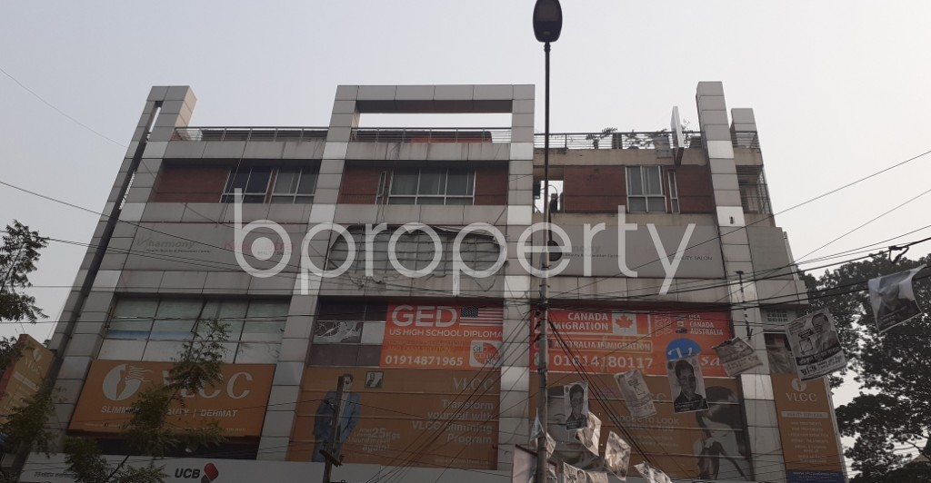 Front view - Office for Sale in Dhanmondi, Dhaka - 1987452