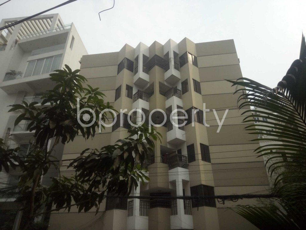 Outside view - 3 Bed Apartment to Rent in Baridhara, Dhaka - 1987652