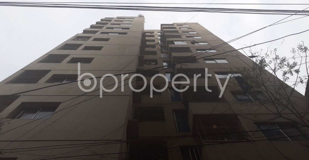 Front view - 3 Bed Apartment for Sale in Dhanmondi, Dhaka - 1988183