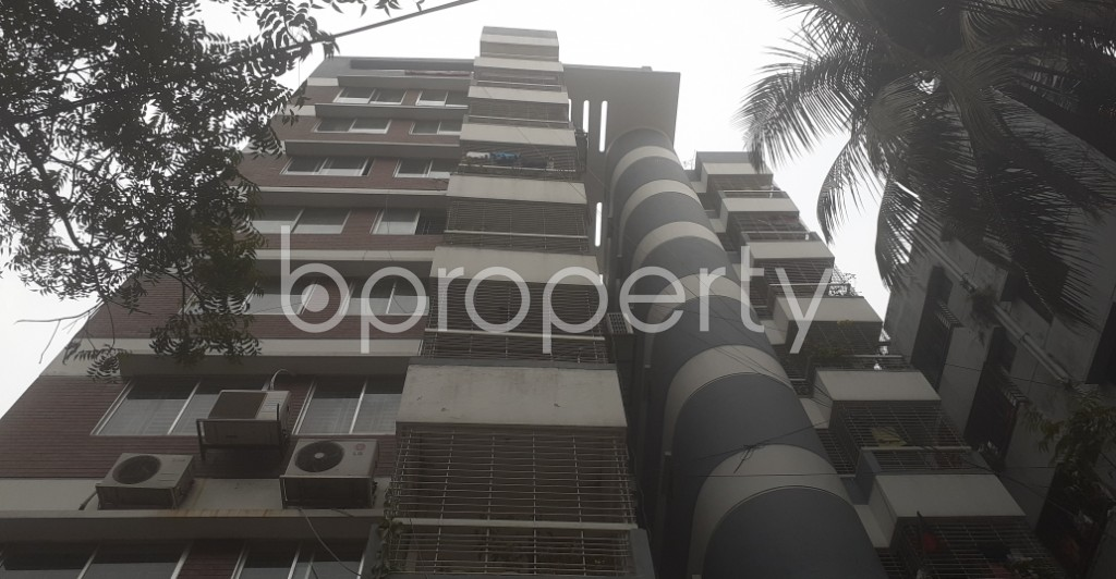 Front view - 3 Bed Apartment for Sale in Dhanmondi, Dhaka - 1988188
