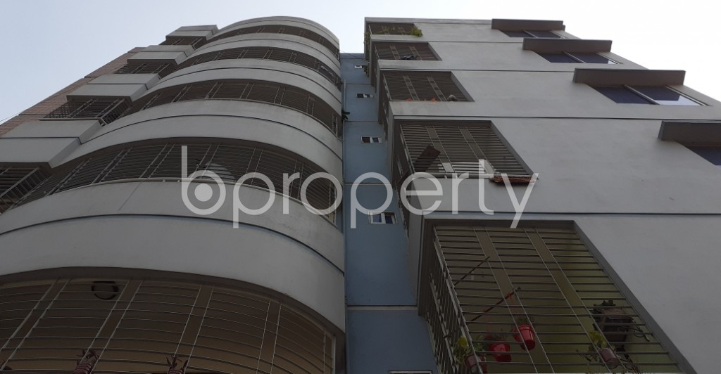 Front view - 2 Bed Apartment for Sale in Uttara, Dhaka - 1989075