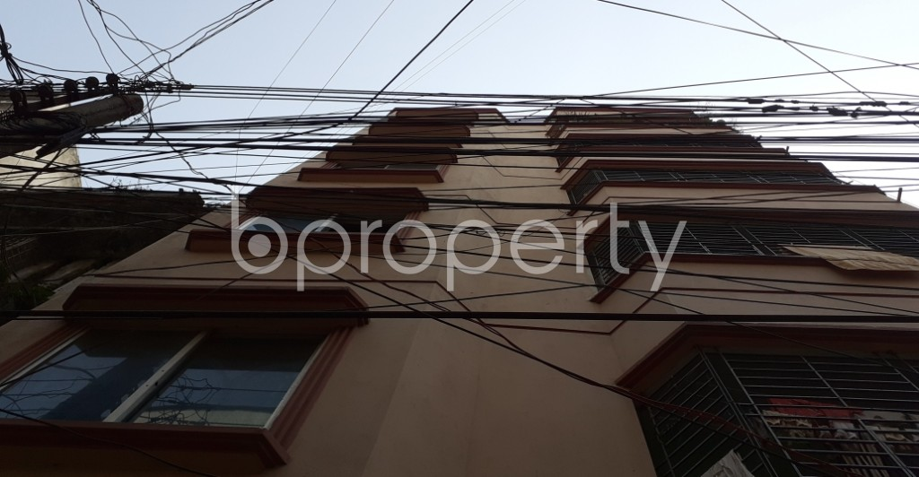 Outside view - 3 Bed Apartment to Rent in Lalmatia, Dhaka - 1989657