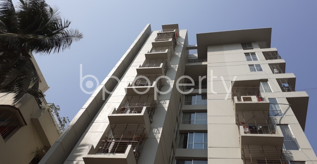 Outside view - 3 Bed Apartment to Rent in Lalmatia, Dhaka - 1989667