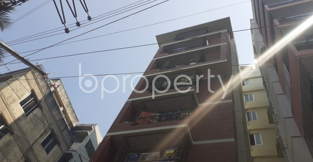 Outside view - 3 Bed Apartment for Sale in Dhanmondi, Dhaka - 1989973