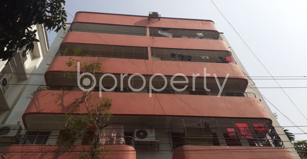 Front view - 3 Bed Apartment for Sale in Uttara, Dhaka - 1990504