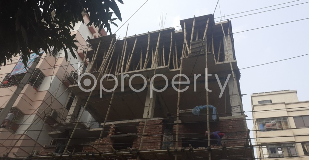 Front view - 3 Bed Apartment for Sale in Uttara, Dhaka - 1990787
