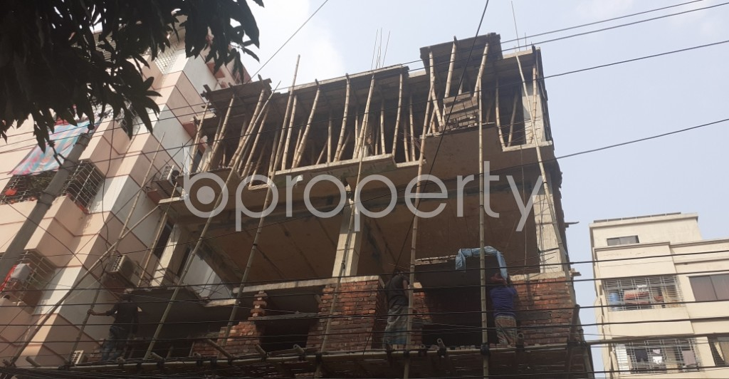 Front view - 3 Bed Apartment for Sale in Uttara, Dhaka - 1990789