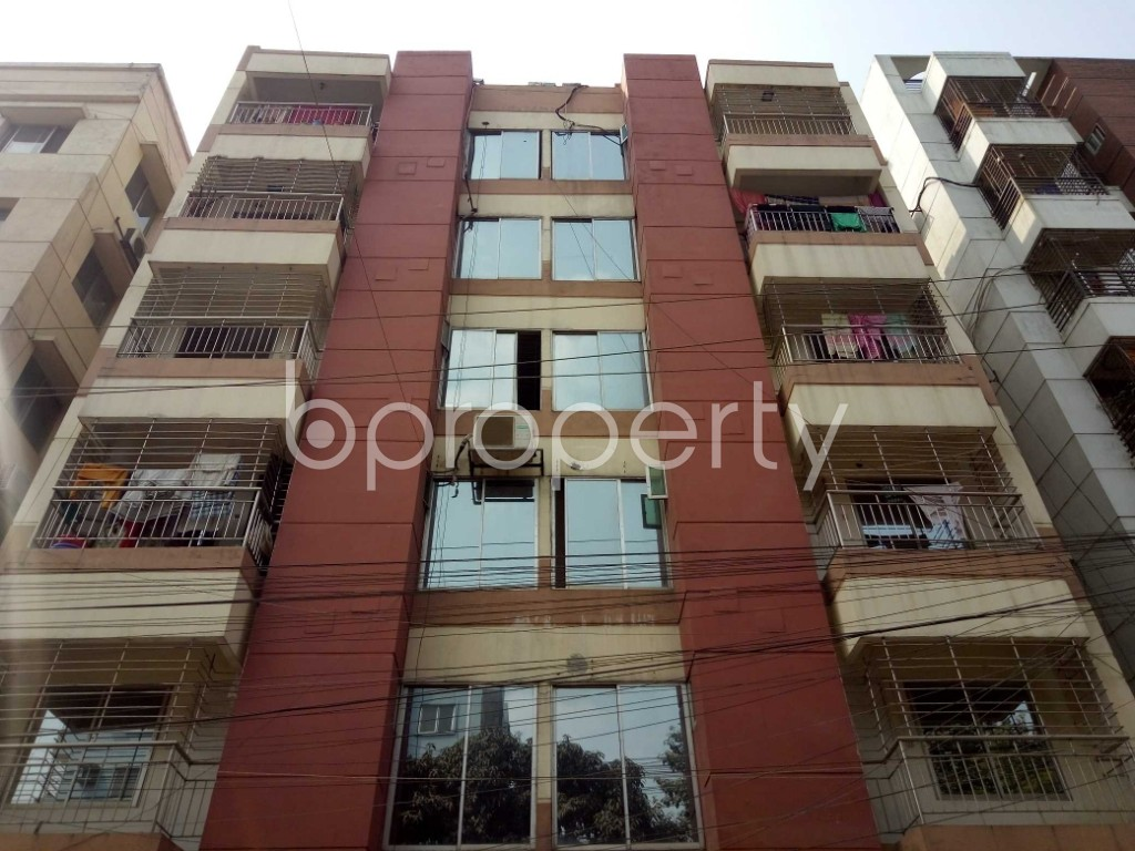 Front view - 3 Bed Apartment for Sale in Uttara, Dhaka - 1991245