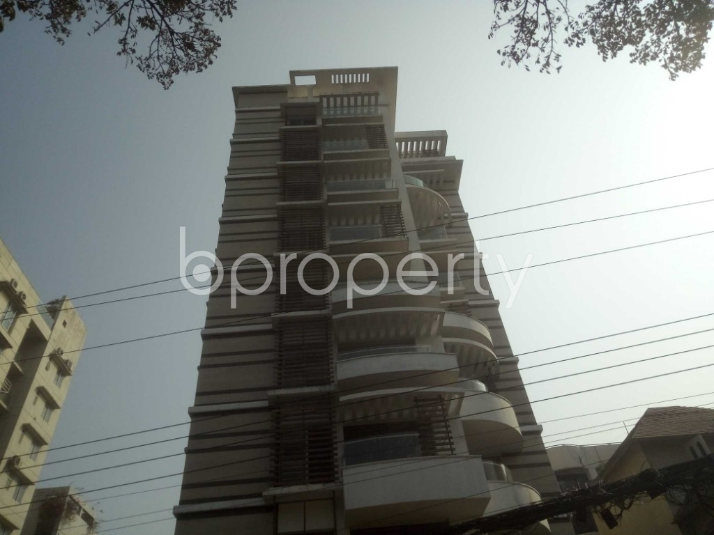 Outside view - 4 Bed Apartment to Rent in Baridhara, Dhaka - 1991281
