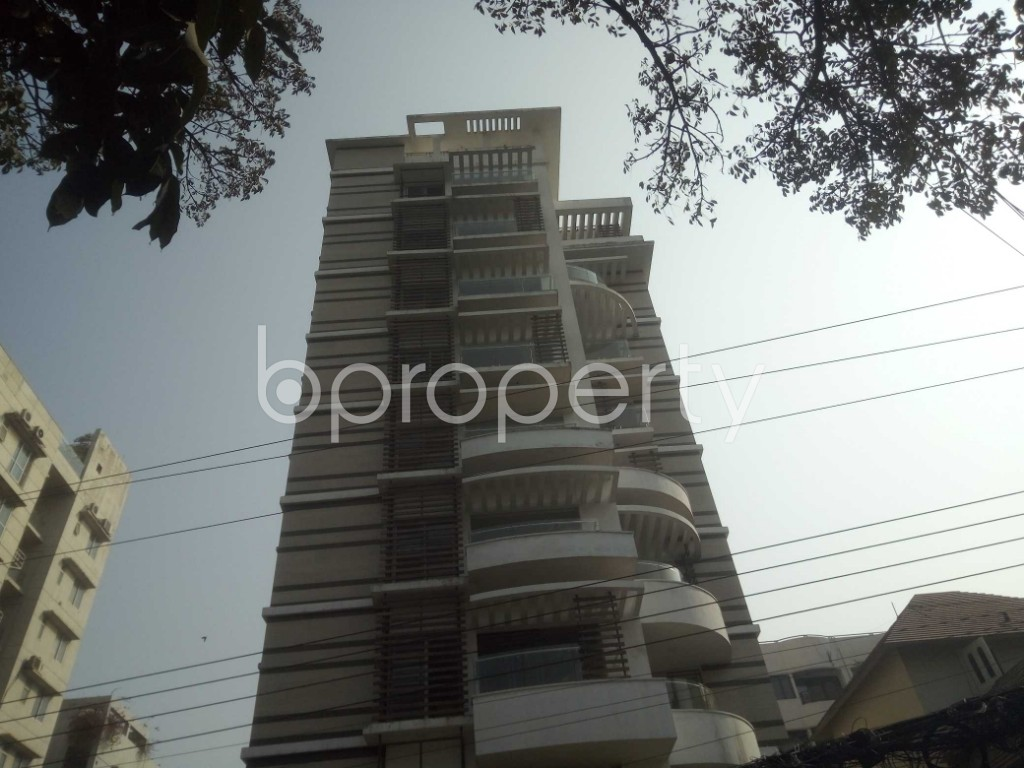 Outside view - 4 Bed Apartment to Rent in Baridhara, Dhaka - 1991282