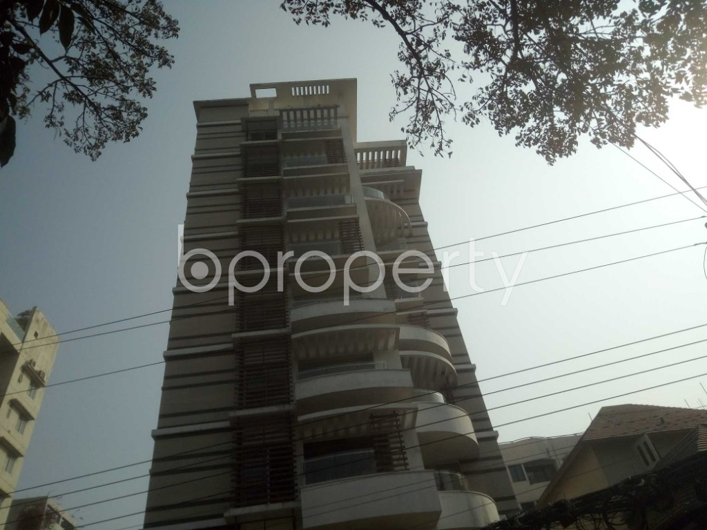 Outside view - 4 Bed Apartment to Rent in Baridhara, Dhaka - 1991283