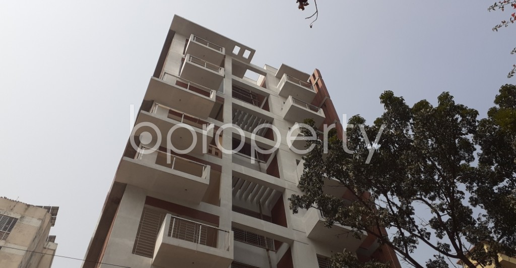 Front view - 4 Bed Apartment for Sale in Uttara, Dhaka - 1991453