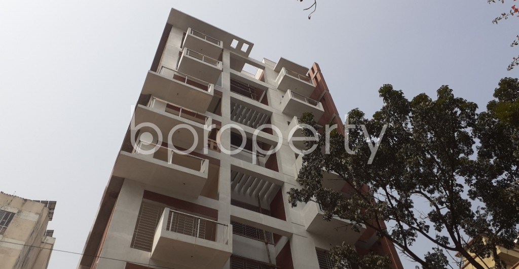 Front view - 4 Bed Apartment for Sale in Uttara, Dhaka - 1991454