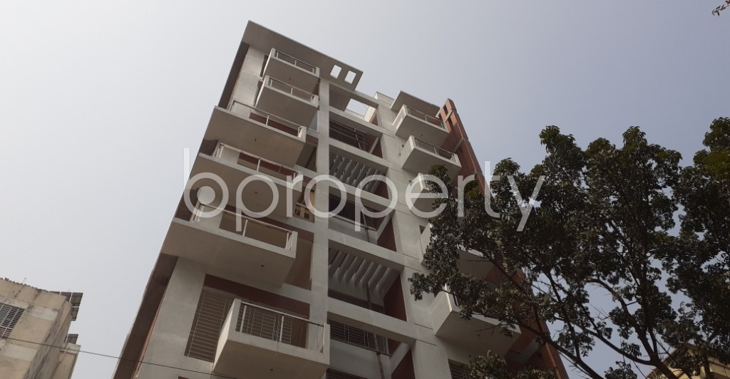 Front view - 4 Bed Apartment for Sale in Uttara, Dhaka - 1991455