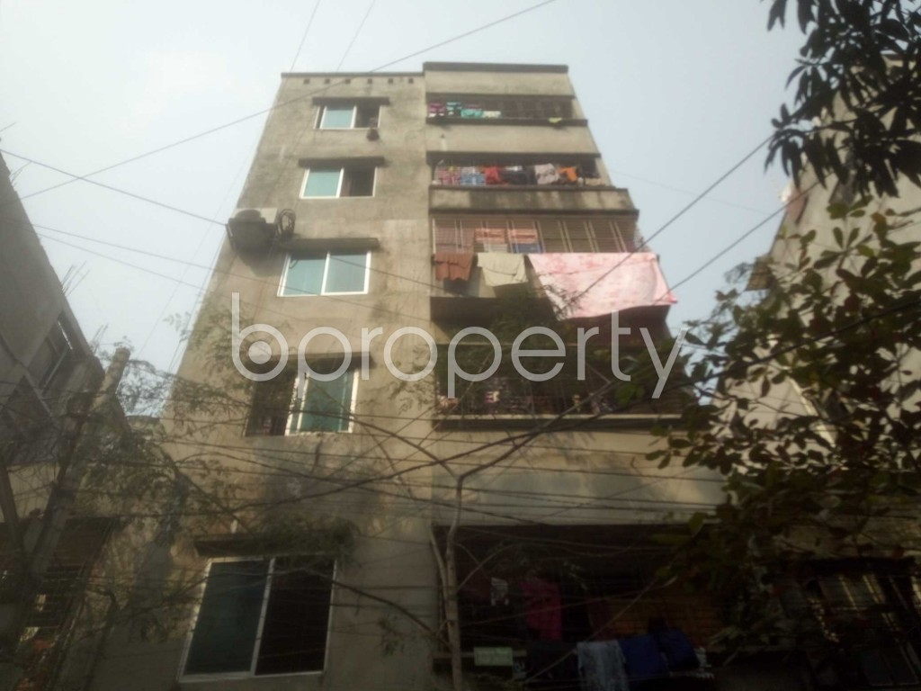 Front view - 3 Bed Apartment for Sale in Mirpur, Dhaka - 1991533