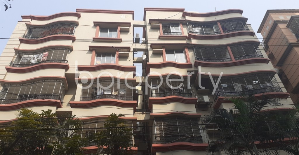 Front view - 3 Bed Apartment for Sale in Gulshan, Dhaka - 1991551
