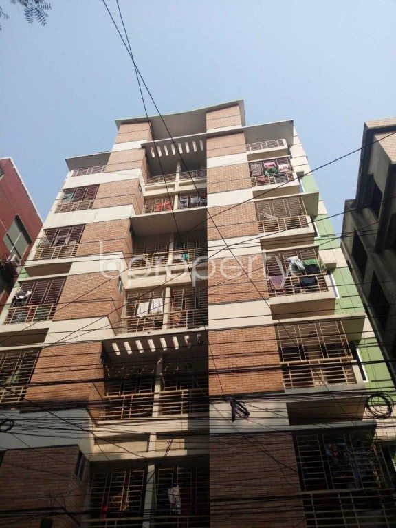 Front view - 3 Bed Apartment for Sale in Uttara, Dhaka - 1991553