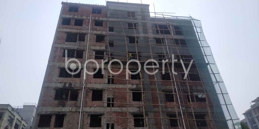 Front view - 3 Bed Apartment for Sale in Bashundhara R-A, Dhaka - 1991570